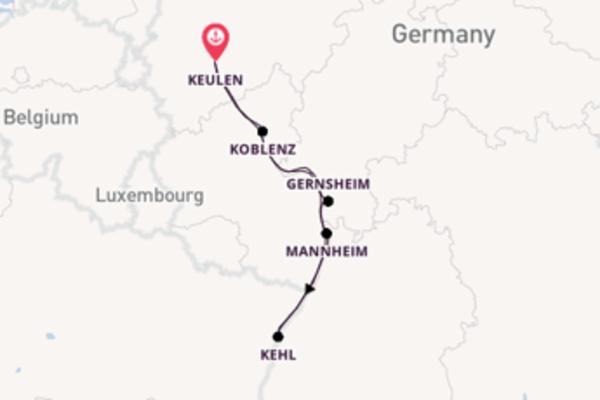 De pracht van het sprankelende Gernsheim