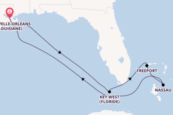 Découvrez avec Carnival Cruise Lines, la destination: Freeport