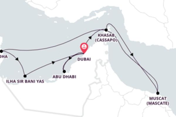 Passeio pelo Oriente Médio
