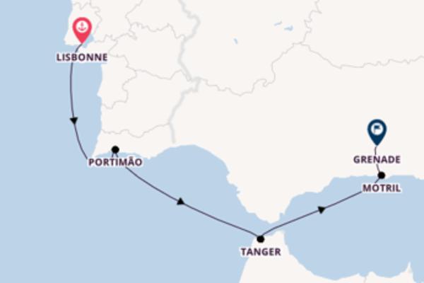 Croisière de 6 jours depuis Lisbonne avec Star Clippers