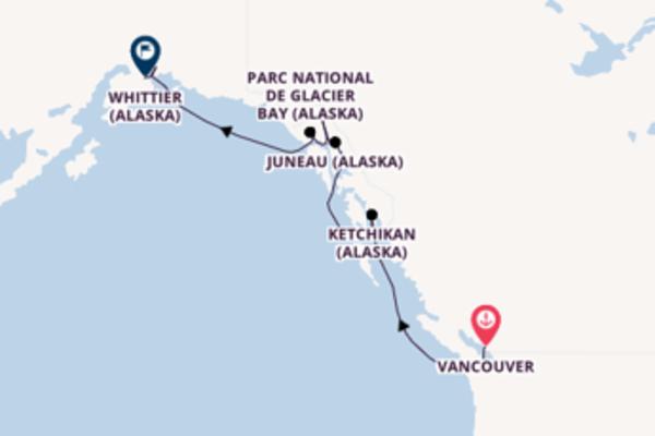 Inoubliable croisière de 8 jours avec Princess Cruises