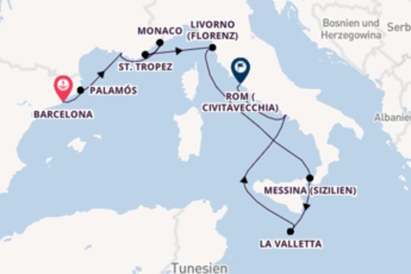 Beeindruckende Reise über La Valletta in 11 Tagen