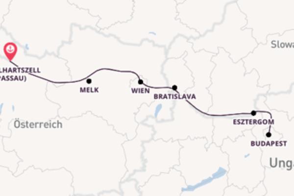 Einzigartige Reise ab Engelhartszell (Passau)