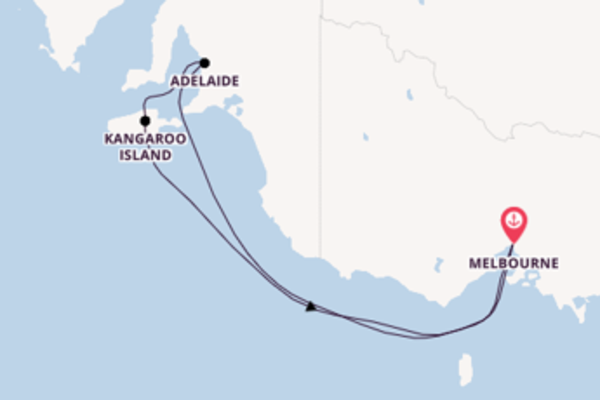 6 Tage Australien Kreuzfahrt