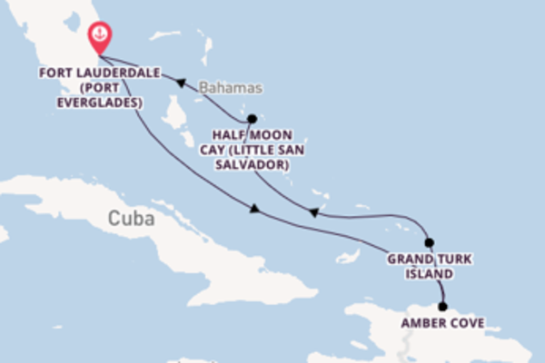 Cruise from Fort Lauderdale with the Carnival Breeze