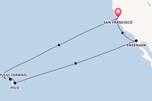 A bordo di Carnival Miracle fino a San Francisco