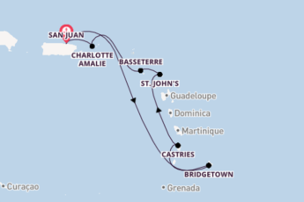 Sensational trip from San Juan with Celebrity Cruises