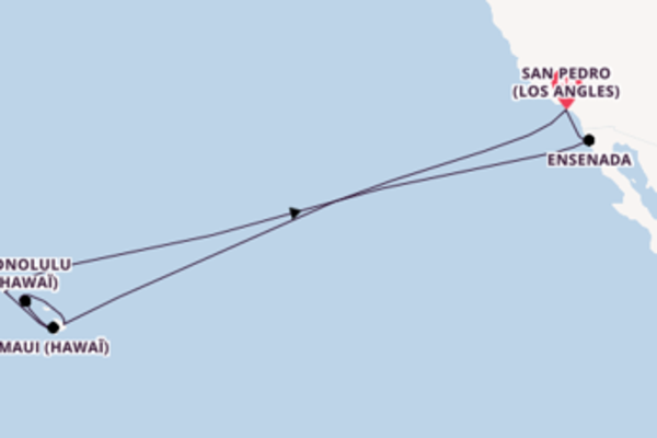 Magnifique croisière avec Princess Cruises pendant 16 jours