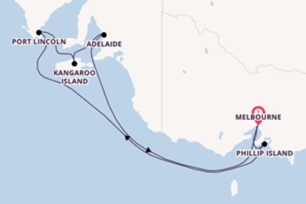 Travelling from Melbourne via Kangaroo Island