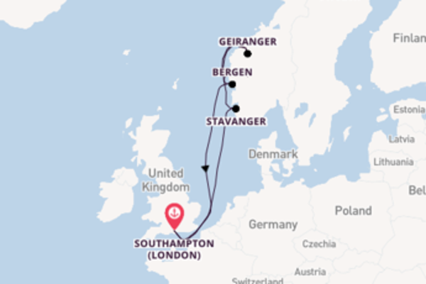 Trip from Southampton (London) with the Celebrity Silhouette