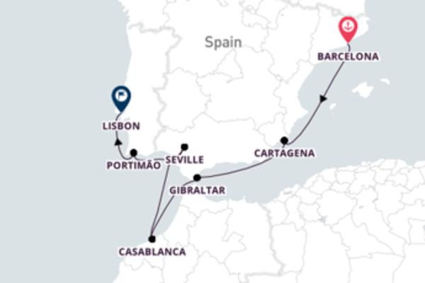 Visit Memorable Lisbon from Barcelona