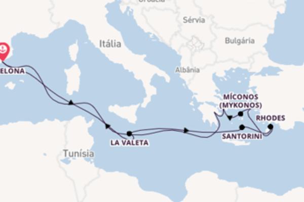 Navegando por 13 dias a bordo do Celebrity Apex