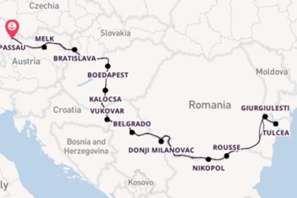 Bezoek de parels van Belgrado