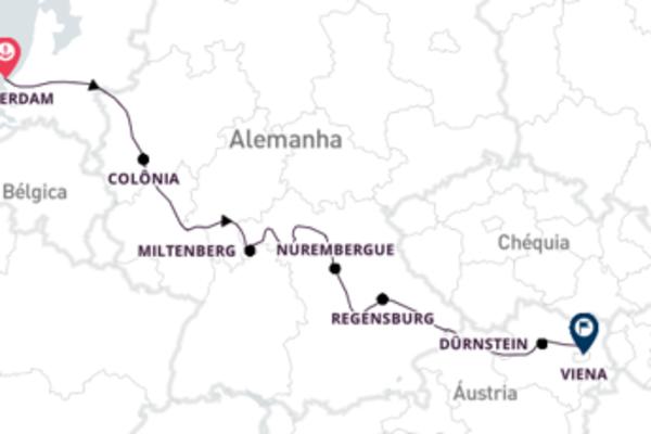 Encantos de Amsterdã e Viena