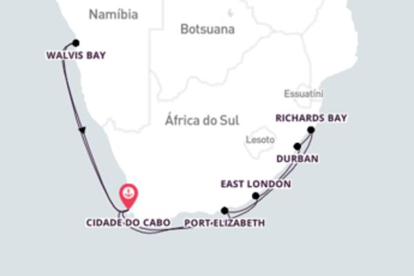 Navegando no Azamara Journey por 16 dias