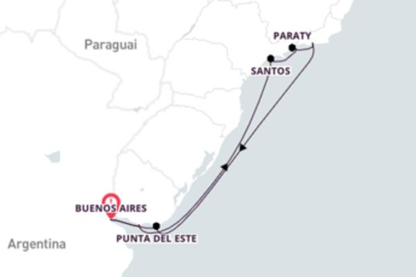 Esplêndida viagem de 14 dias a bordo do Azamara Quest