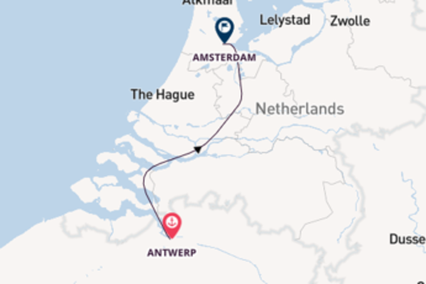 Journey with CroisiEurope from Antwerp to Amsterdam