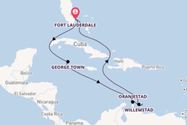 Aanschouw Kralendijk met Celebrity Cruises
