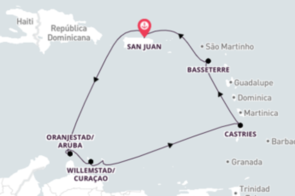 Agradável cruzeiro até San Juan
