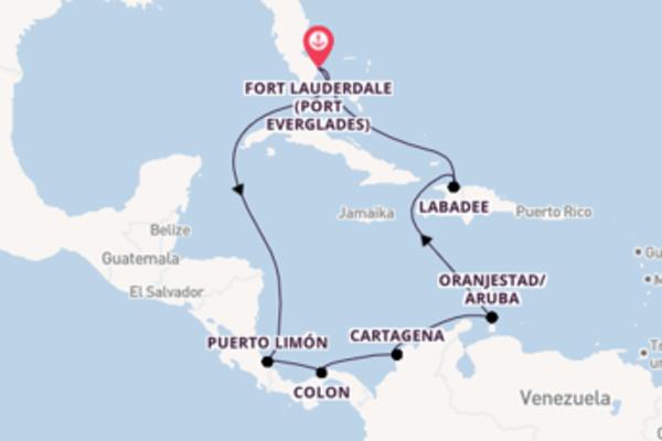 Kreuzfahrt mit der Vision of the Seas nach Fort Lauderdale