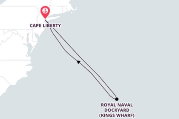 Cape Liberty und Kings Wharf entdecken
