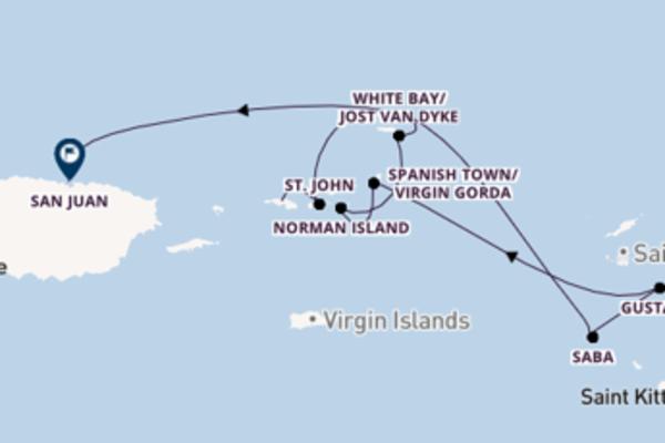 8 Tage Karibik Reise