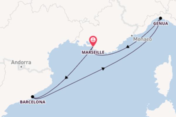 Cruise met MSC Cruises naar Barcelona