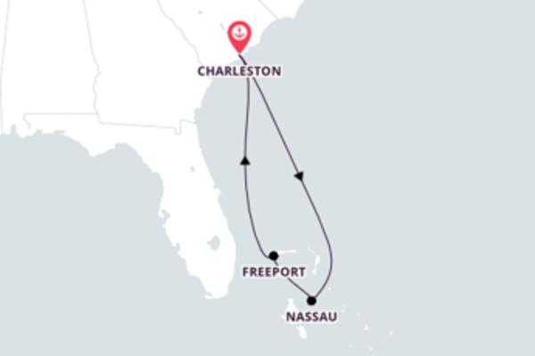 Da Carolina do Sul para as Bahamas