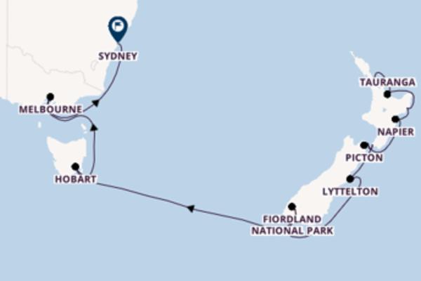Imperdibile crociera verso Sydney