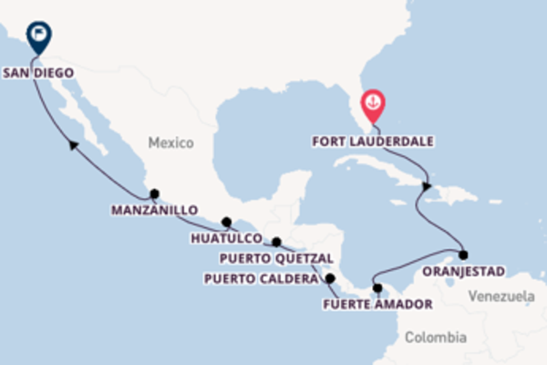 Destinazione San Diego da Fort Lauderdale