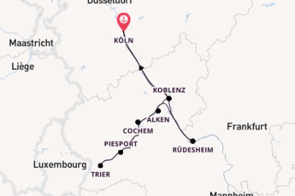 Romantisch auf Rhein und Mosel
