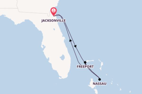 Nassau depuis Jacksonville pour une croisière de 6 jours