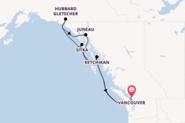 Von Vancouver über Sitka in 8 Tage