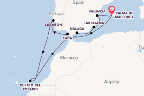 Ervaar Lissabon met AIDA Cruises
