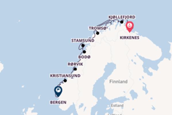 Kirkenes - Bergen