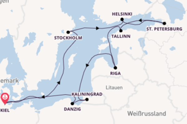 Außergewöhnliche Kreuzfahrt mit der Ocean Majesty
