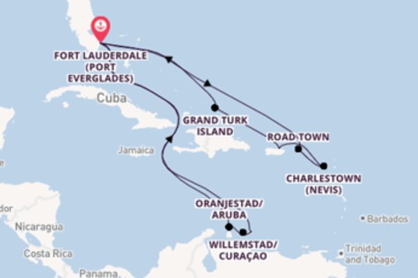 Journey from Fort Lauderdale (Port Everglades) with the Regal Princess