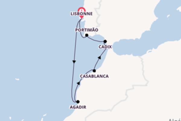 Magnifique balade de 8 jours au départ de Lisbonne