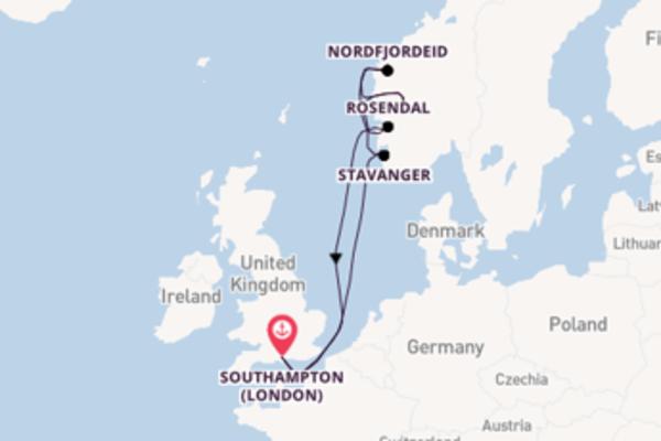 Meraviglioso viaggio di 8 giorni verso Stavanger a bordo di MSC Magnifica