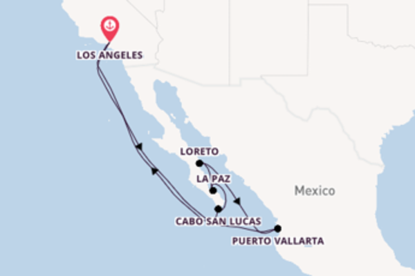 11-daagse cruise naar Loreto