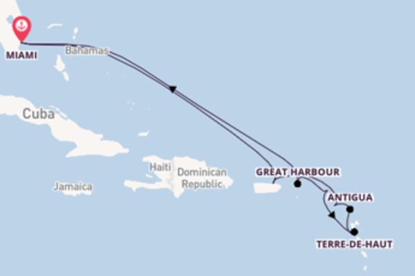 Fare rotta verso San Juan a bordo di Seabourn Sojourn