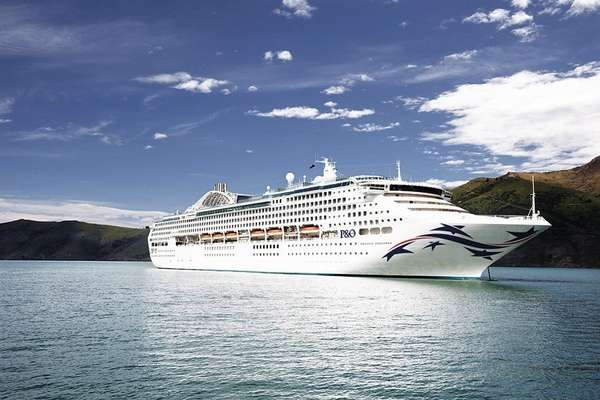 Expedition with P&O Australia from Brisbane
