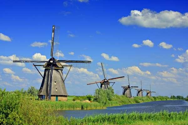 Panoramafahrt Kinderdijk, Niederlande