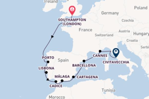 11 giorni da Southampton (London)
