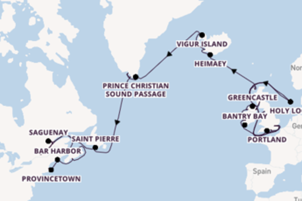 Sailing from London with the Seabourn Quest