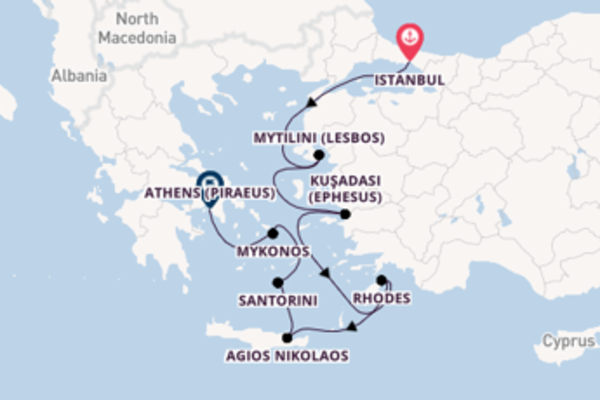 Sailing from Istanbul with the Seven Seas Splendor