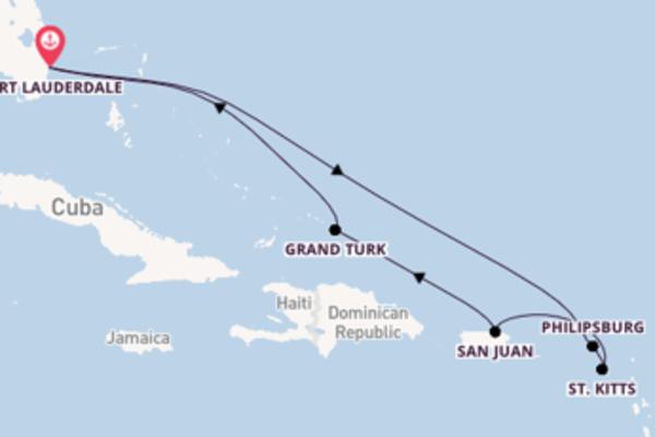 Cruise in 9 dagen naar Fort Lauderdale met Carnival Cruise Line