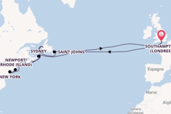 Idyllique balade de 31 jours avec P&O Cruises