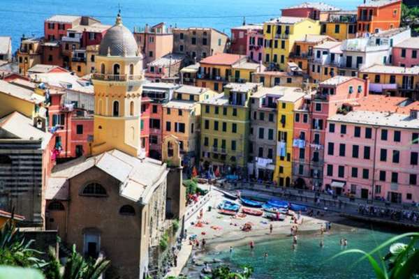 Crociera da Civitavecchia verso La Spezia