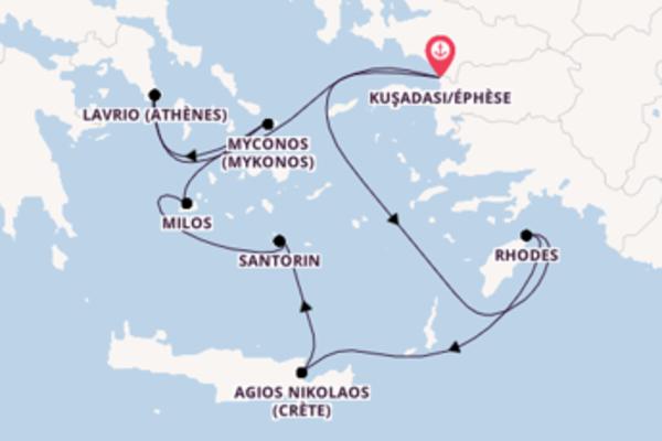 Explorez avec Celestyal Cruises, la destination: Agios Nikolaos (Crète)